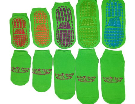 Bulk wholesale custom trampoline socks