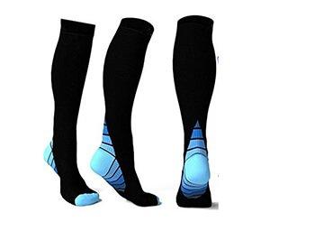 Custom 20-30 mmhg compression socks flight socks inflight socks