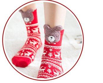 Custom 3D quarter socks for ladies women