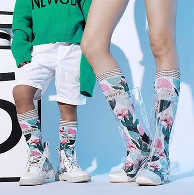 Custom 3d design oem socks