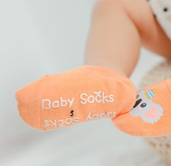 Custom Babies anti-slip socks
