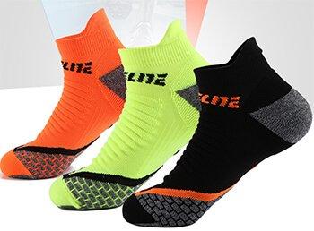 Custom LOGO ankle quarter socks for men