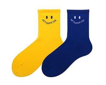 Custom LOGO colorful quarter socks for women ladies