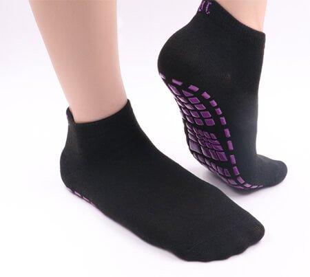 Custom LOGO hospital anti slip socks