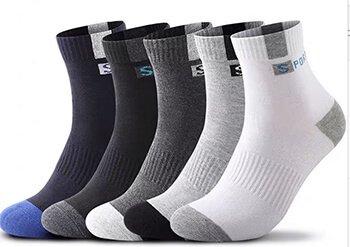 Custom LOGO unisex ankle quarter socks
