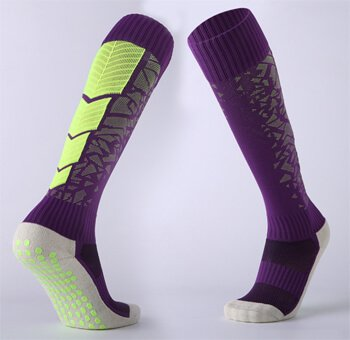 Custom anti-slip football socks