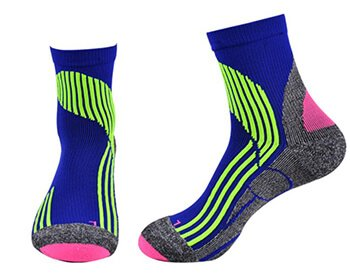 Custom basketball compression socks