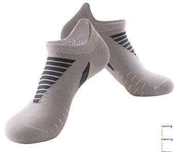 Custom best athletic socks low cut cushion sports socks