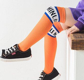 Custom children knee high socks