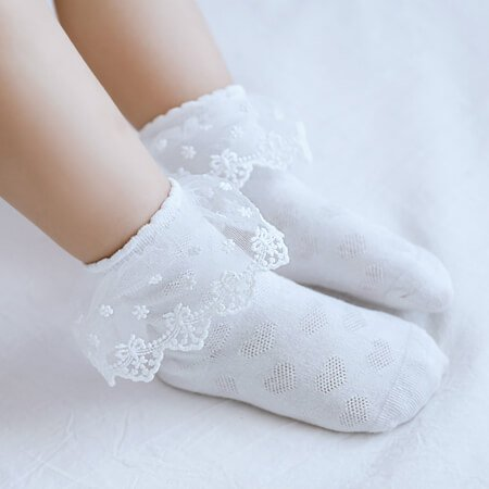 Custom children lace socks