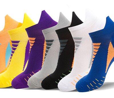 Custom colorful ankle sport socks