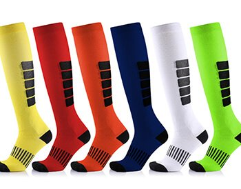 Custom compression football socks