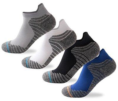 Custom cushion ankle sport socks