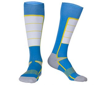 Custom knee high compression socks
