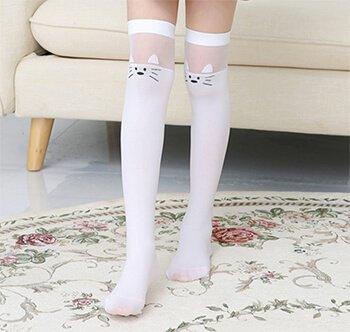 Custom knee high socks for girls