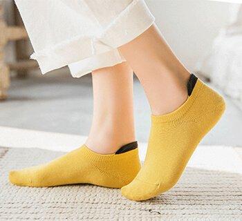 Custom low cut socks for women