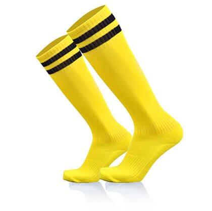 Custom men knee high socks