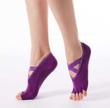 Custom non slip yoga socks