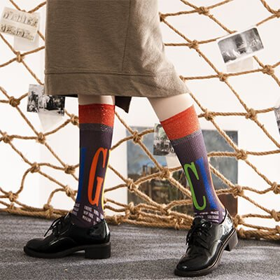 Custom private label sublimation socks