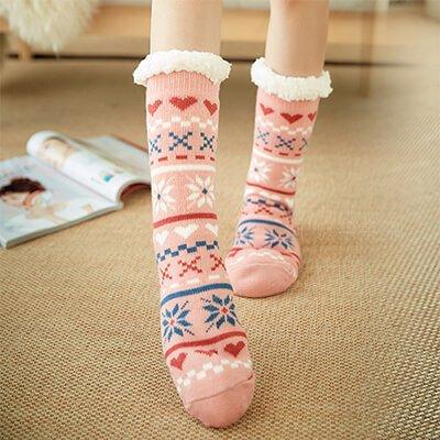 Custom private thick home socks