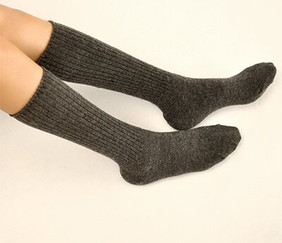 Custom tube wool socks
