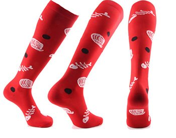 Custom womens compression socks