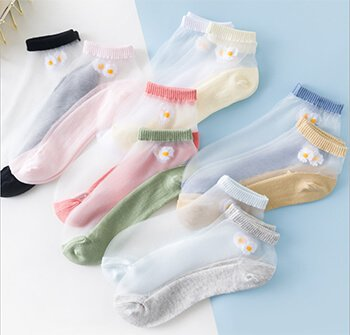 custom women thin low cut socks
